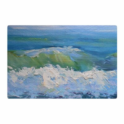 Carol Schiff the Pastel Sea Purple/Blue Area Rug Rug Size: 4 x 6