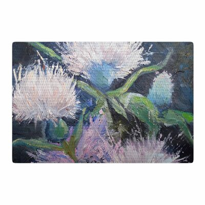 Carol Schiff Thistle Love Pink/Green Area Rug Rug Size: 2 x 3
