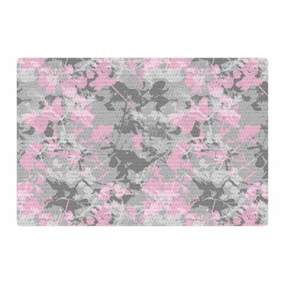 Carolyn Greifeld Blissed Digital Gray Area Rug Rug Size: 2 x 3