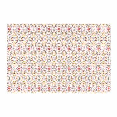 Carolyn Greifeld Bright Modern Shabby Pattern Pink Area Rug Rug Size: 4 x 6