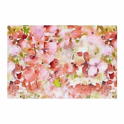 Carolyn Greifeld Floral Fantasy Abstract Pink Area Rug Rug Size: 4 x 6