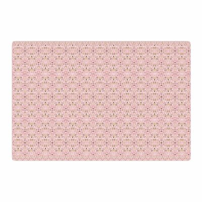 Carolyn Greifeld Modern Shabby Abstract Pink Area Rug Rug Size: 4 x 6