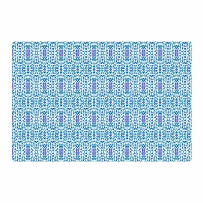 Carolyn Greifeld Shabby Blues Digital Purple Area Rug Rug Size: 4 x 6