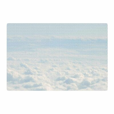Chcelsea Victoria Softly Blue/White Area Rug Rug Size: 4 x 6
