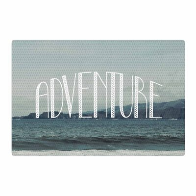 Chelsea Victoria Adventure Photography Blue Area Rug Rug Size: 4 x 6