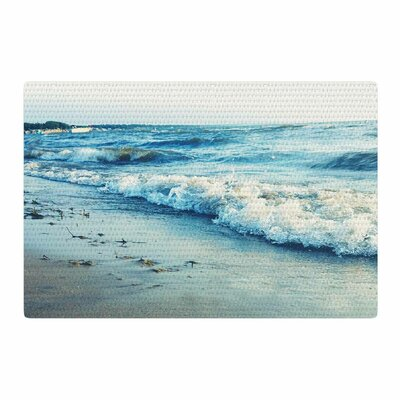 Chelsea Victoria Beyond the Sea Blue/Coastal Area Rug Rug Size: 2 x 3