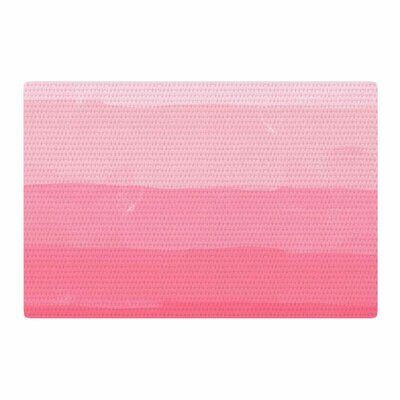 Chelsea Victoria Pink Ombre Layer Cake Stripes Pink Area Rug Rug Size: 4 x 6