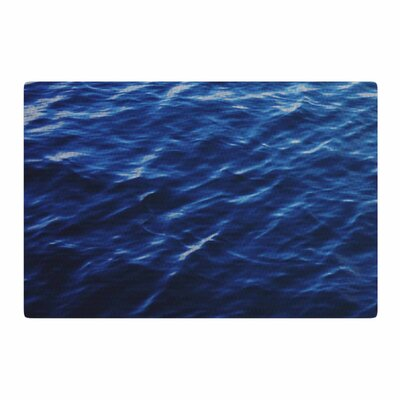 Chelsea Victoria Sea Calm Blue/Nature Area Rug Rug Size: 4 x 6