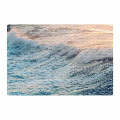 Chelsea Victoria Sherbert Ocean Orange/Nature Area Rug Rug Size: 2 x 3