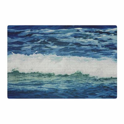 Chelsea Victoria Sink Back Into Coastal/Blue Area Rug Rug Size: 2 x 3