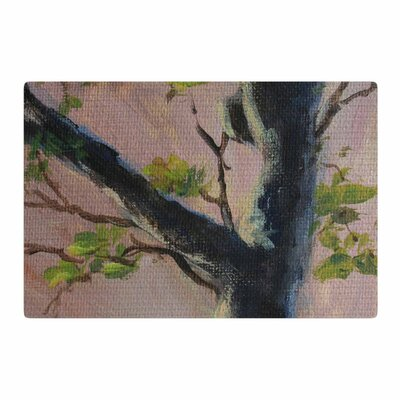 Cyndi Steen Aussie Tree Pink/Nature Area Rug Rug Size: 4 x 6