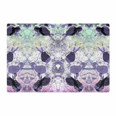 Danii Pollehn Geometrical Jumper Geometric Purple Area Rug Rug Size: 2' x 3'
