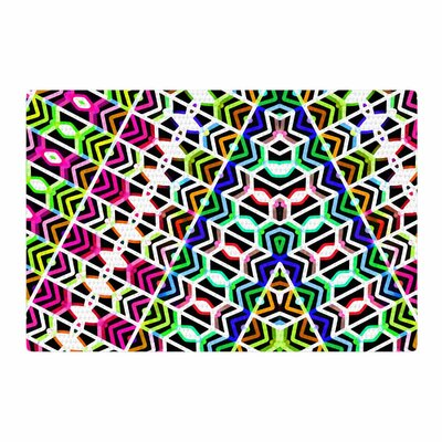 Dawid Roc Colorful Tribal Pattern Red/Blue Area Rug Rug Size: 2 x 3