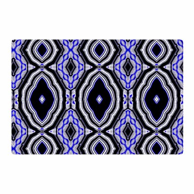 Dawid Roc Inspired By Psychedelic Art 3 Abstract Purple Area Rug Rug Size: 4 x 6