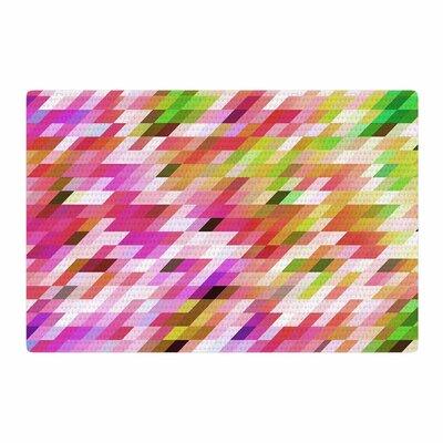 Dawid Roc Spring Summer Geometric Digital Pastel Area Rug Rug Size: 2 x 3