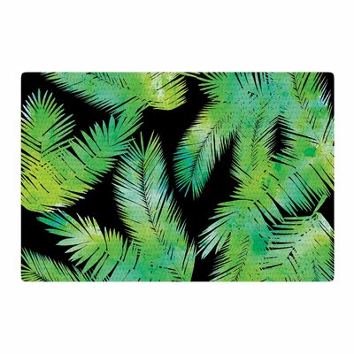 Draper Tropic Green Black/Nature Area Rug Rug Size: 4 x 6