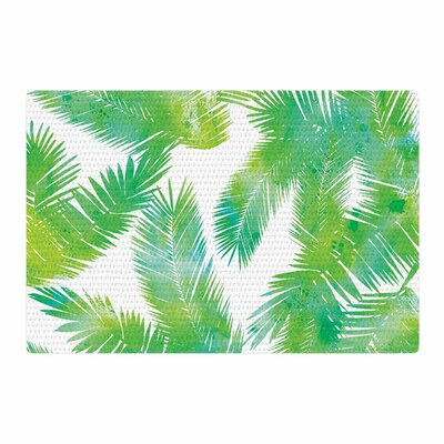 Draper Tropic Summer Green/Nature Area Rug Rug Size: 2 x 3