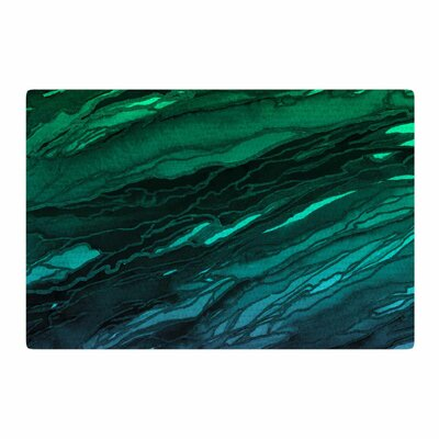 Ebi Emporium Agate Magic Plum Ombre Aqua/Purple/Green Area Rug Rug Size: 4 x 6