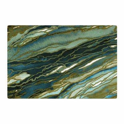 Ebi Emporium Agate Magic Brown/Blue/Teal Area Rug Rug Size: 2 x 3