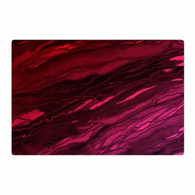 Ebi Emporium Agate Magic Deep Purple Area Rug Rug Size: 2' x 3'