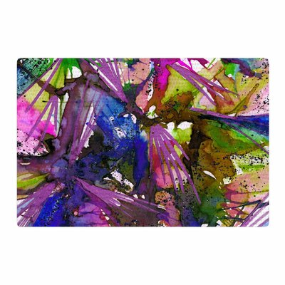 Ebi Emporium Birds of Prey - Tropical II Painting Area Rug Rug Size: 4 x 6