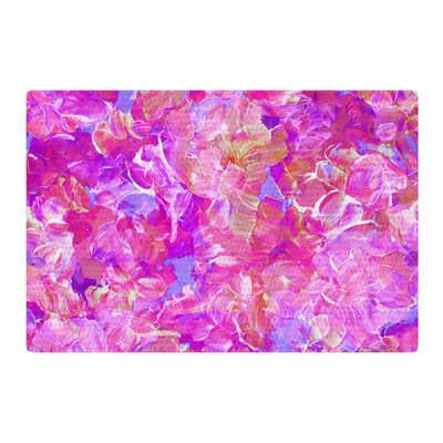 Ebi Emporium Bloom on! Abstract Purple/Pink Area Rug Rug Size: 4 x 6