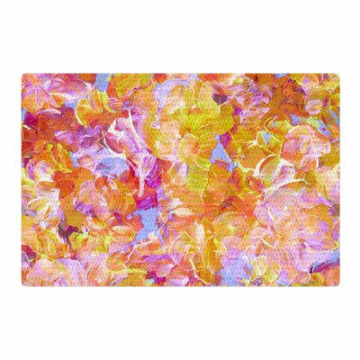 Ebi Emporium Bloom on! Pink/Orange/Yellow Area Rug Rug Size: 2 x 3