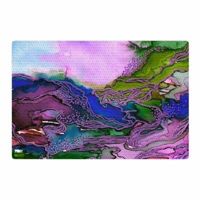 Ebi Emporium Bring on Bohemia 2 Blue/Purple/Lavender Area Rug Rug Size: 2 x 3