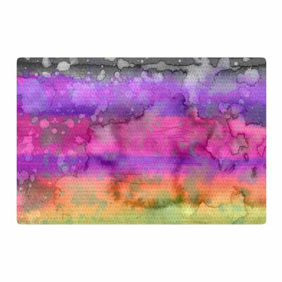 Ebi Emporium California Surf 5 Pink/Purple Area Rug Rug Size: 4 x 6