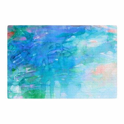 Ebi Emporium Childlike Wonder Blue/Pastel Area Rug Rug Size: 2' x 3'