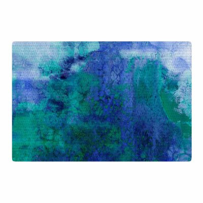 Ebi Emporium Epoch 2 Blue/Teal Area Rug Rug Size: 2' x 3'