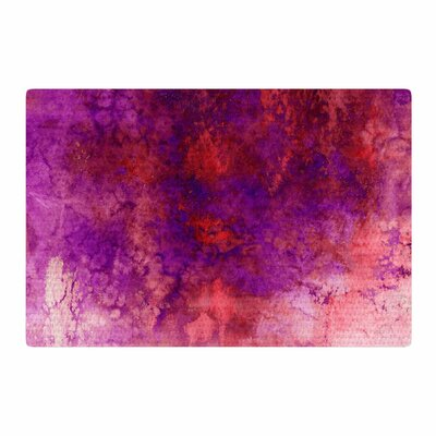 Ebi Emporium Epoch 3 Red/Purple Area Rug Rug Size: 2' x 3'
