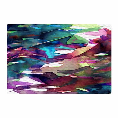 Ebi Emporium Fervor 4 Abstract Magenta Area Rug Rug Size: 4 x 6