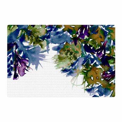 Ebi Emporium Floral Cascade 4 Purple/Green Area Rug Rug Size: 4 x 6