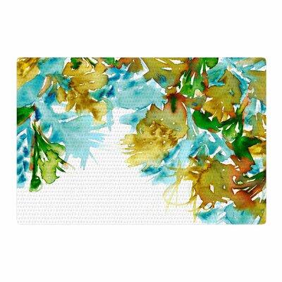 Ebi Emporium Floral Cascade 9 Yellow/Green Area Rug Rug Size: 2 x 3