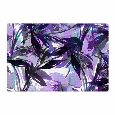 Ebi Emporium Floral Fiesta Painting Watercolor Lavender Area Rug Rug Size: 2 x 3