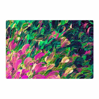 Ebi Emporium Follow the Current 4 Pink/Green Area Rug Rug Size: 2 x 3