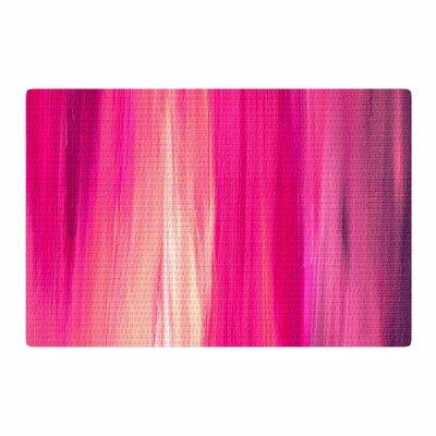 Ebi Emporium Irradiated Fuchsia Magenta/Pink Area Rug Rug Size: 2 x 3