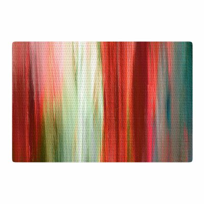 Ebi Emporium Irradiated Multi 1 Red/Olive Area Rug Rug Size: 4 x 6