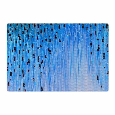 Ebi Emporium Mystic Garden 3 Blue/Red Area Rug Rug Size: 2 x 3