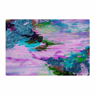 Ebi Emporium On Cloud Nine - 4 Pink/Teal Area Rug Rug Size: 2 x 3