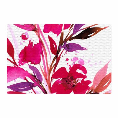 Ebi Emporium Pocket Full of Posies 11 Nature/Pink Area Rug Rug Size: 2 x 3