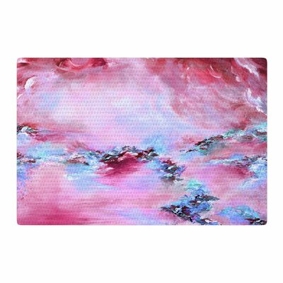 Ebi Emporium Sea to Sky 3 Abstract Pink Area Rug Rug Size: 2 x 3