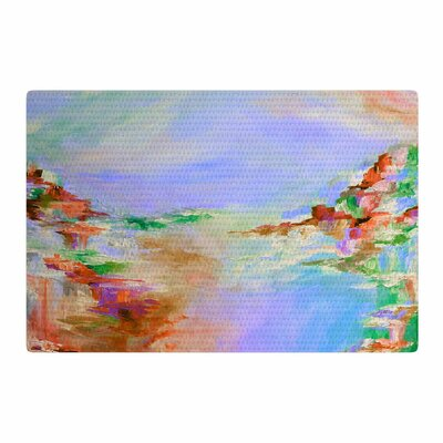 Ebi Emporium Something about the Sea 3 Lavender Area Rug Rug Size: 2 x 3