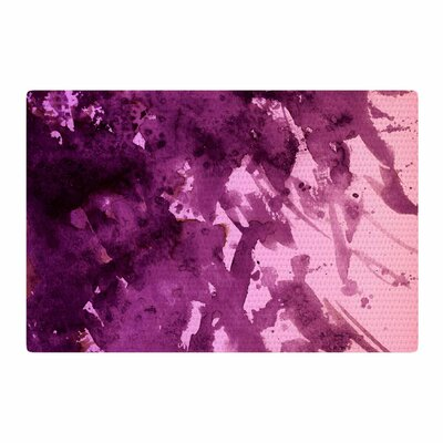 Ebi Emporium Splash out Purple/Pink Area Rug Rug Size: 2 x 3