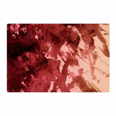 Ebi Emporium Splash out Coral Maroon Orange Area Rug Rug Size: 2 x 3