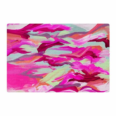 Ebi Emporium Still Up in the Air 3 Pink/Magenta Area Rug Rug Size: 2 x 3