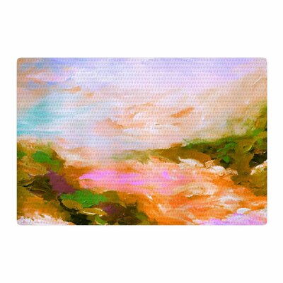 Ebi Emporium Taken By the Undertow 2 Pink/Orange Area Rug Rug Size: 2 x 3