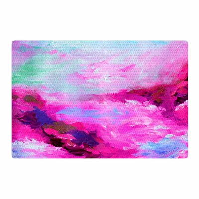 Ebi Emporium Taken By the Undertow 4 Pink/Magenta Area Rug Rug Size: 2 x 3
