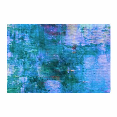 Ebi Emporium The Reef Blue/Teal Area Rug Rug Size: 2' x 3'